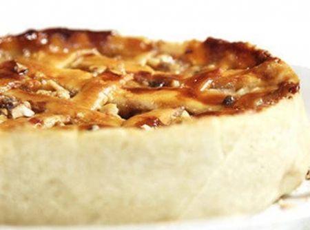 Torta de Banana, Doce de Leite e Castanhas