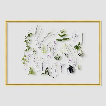 Still Acrylic Wall Art - Summer Botanicals #westelm