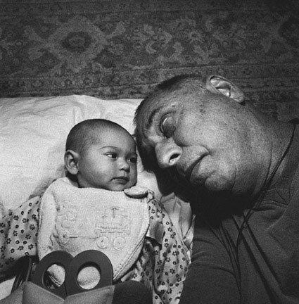 Lee Friedlander, With Grandchild