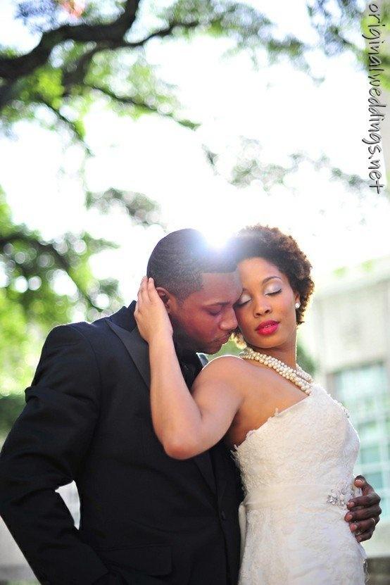 .: Wedding Dressses, Wedding Hair, Wedding Photo, Beautiful Black, Natural Hair, Wedding Pictures, Wedding Couple, Black Love, Bride Groom