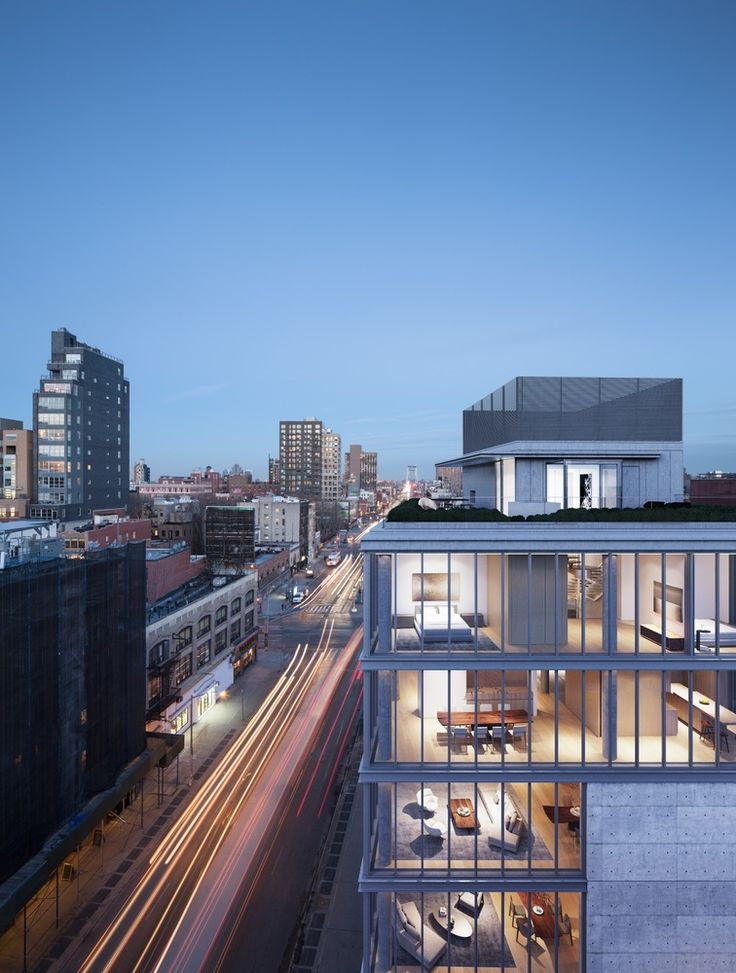 Gallery of New Renderings Reveal the Penthouse Interiors at Tadao Ando's NYC Residential Building - 2