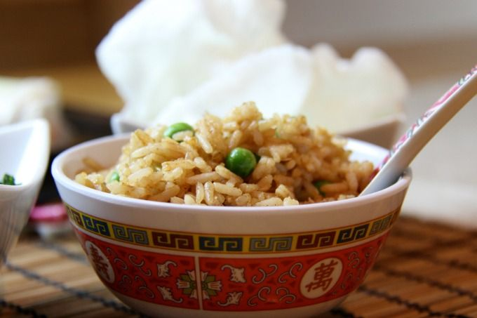 Chinese-Style Egg Fried Rice 'Fakeaway' - One Busy WAHM