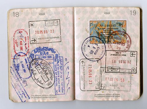 passport pages 18-19 by jonrawlinson, via Flickr