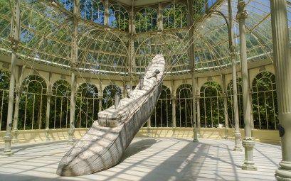 The beautiful Palacio de Cristal in Madrid