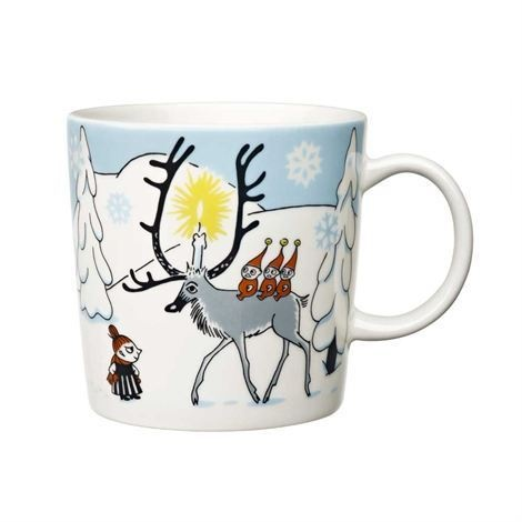 Moomin Mug Christmas Winter Forest Arabia 2012