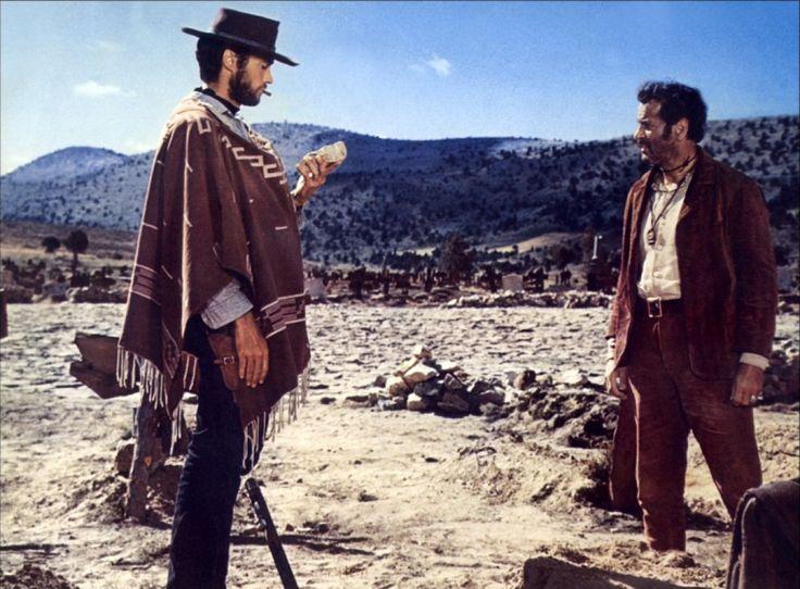 Le Bon, la brute et le truand - Eli Wallach - Clint Eastwood