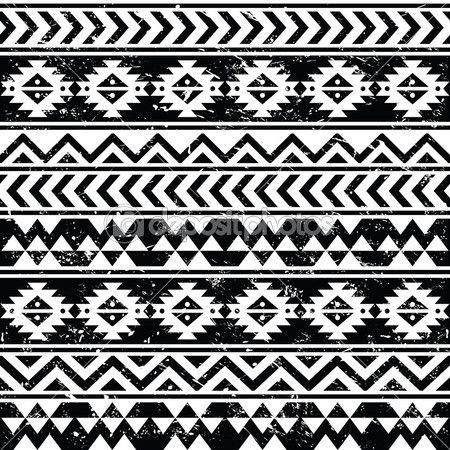 вектор бесшовные ретро ацтеков украшение, этническое происхождение