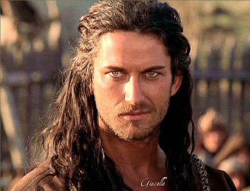 Gerard Butler... Crooked smile, piercingly icey eyes, long hair? I see him as William Munro in A Love for All Seasons. The Highland Treasures Series by Brenda B. Taylor