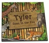 In our personalized zoo book your child's name is hidden in the photos. Your child will love spotting their name. $19.95/$34.95