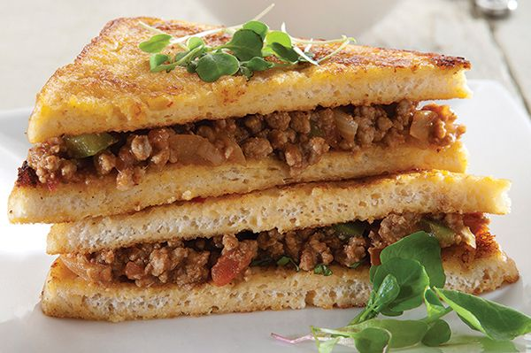 French Toast with mince http://www.spur.co.za/sauces/recipes/delicious-french-toast