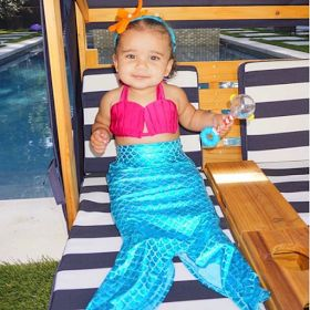 Blac Chyna shares adorable pic of Dream Kardashian in mermaid costume http://ift.tt/2AwinmH
