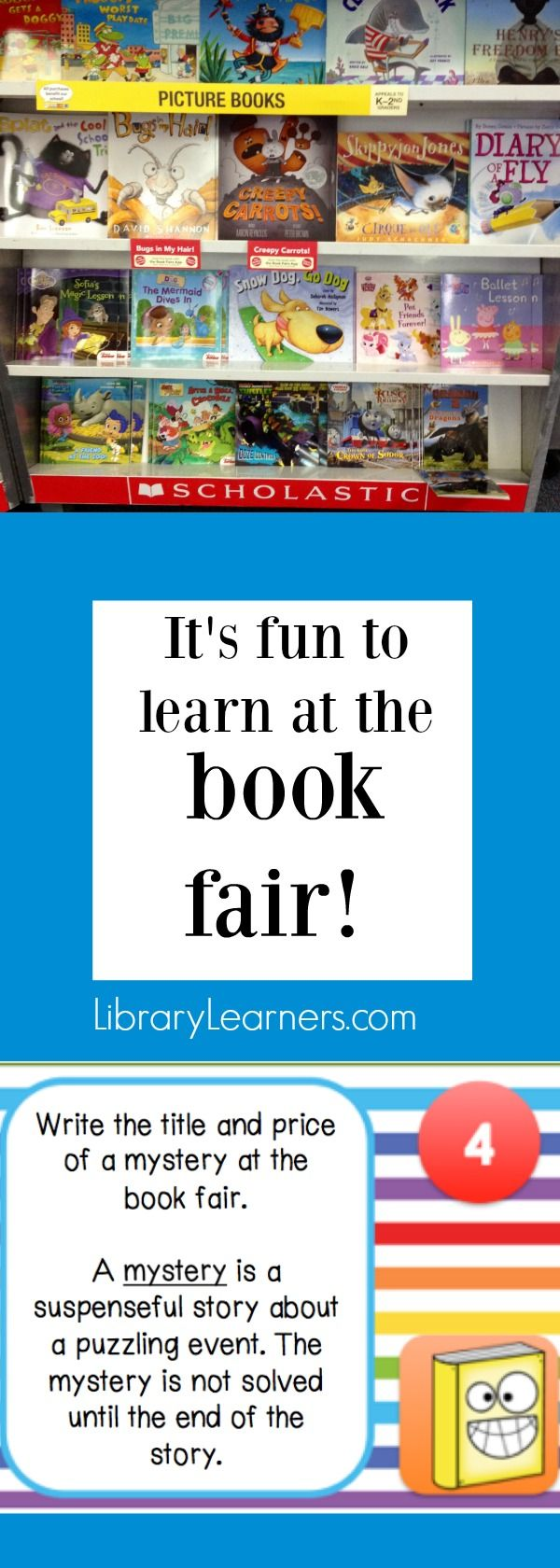 Book Fair Scavenger Hunt Task Cards help your students find genres and fun details on the front covers! Click to learn more!