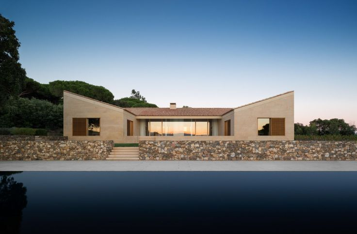 John Pawson . Detached Houses . St Tropez  (1)
