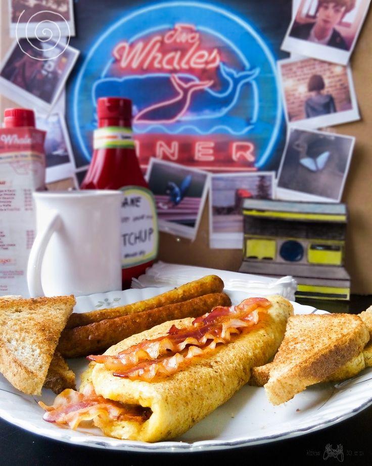 Omlet z bekonem czy gofr belgijski? Przed tym wyborem staje Max podczas wizyty w Two Whales Diner w 2 epizodzie gry Life is Strange. Wy już nie musicie!