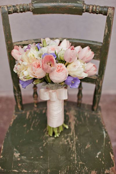 ウエディング ブーケ love tulips
