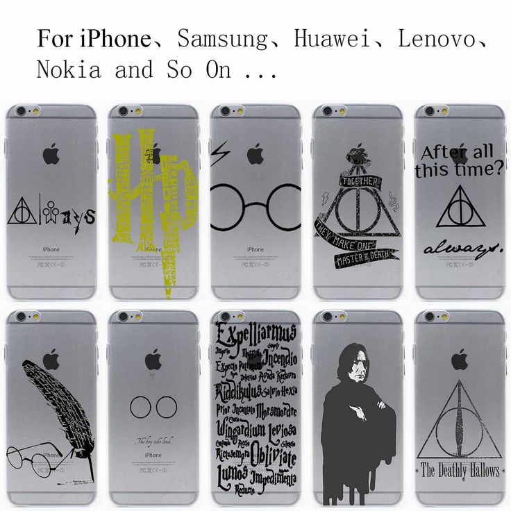 always Harry potter Hard Hollow Out Transparent Case Cover for iPhone 7 7 Plus 6 6S Plus 5 5S SE 5C 4 4S
