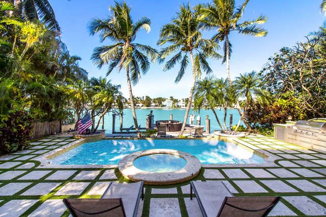 Miami Beach Waterfront Living 5 Beds L