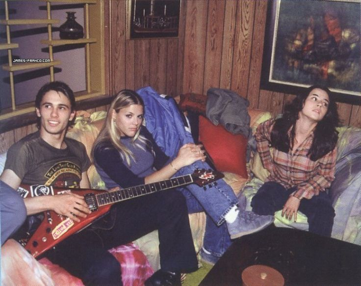 freaks and geeks! I remember this show! James Franco!