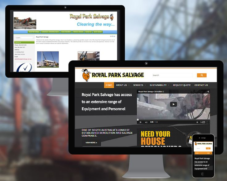 Royal Park Salvage is one of South Australia's longest established demolition and salvage companies.