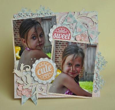 fridge magnet sweet cute  The scrapcake papers