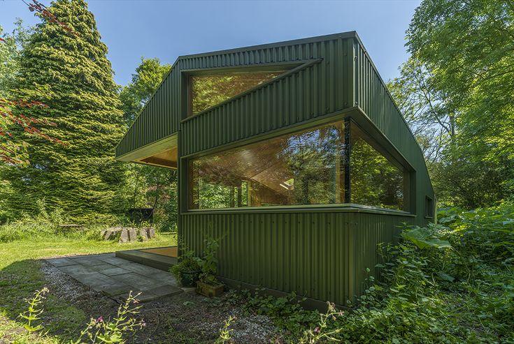 Leben im Wald: Diese Designer-Hütte in Utrecht tarnt sich gut