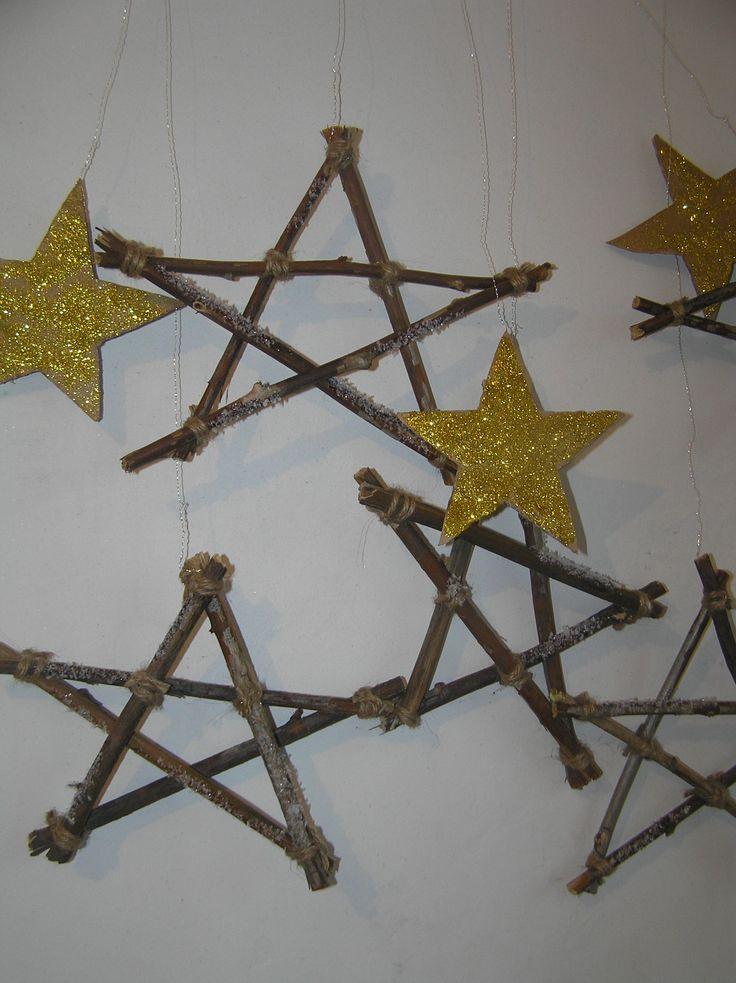 звездное небо из веток