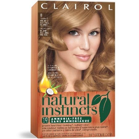 NATURAL INSTINCTS Try Natural Instinct's semi-permanent products with aloe, vitamin and antioxidants for healthy natural hair color.