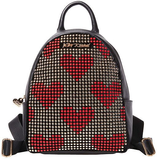 Betsey Johnson Superstud Studded Backpack