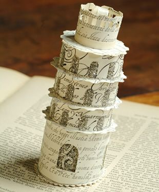 how to make the leaning tower of pisa for kids