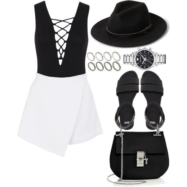 #401 by blendingtwostyles on Polyvore featuring polyvore, fashion, style, BeginAgain Toys, Miss Selfridge, ASOS, Chloé, MANGO, Emporio Armani and clothing