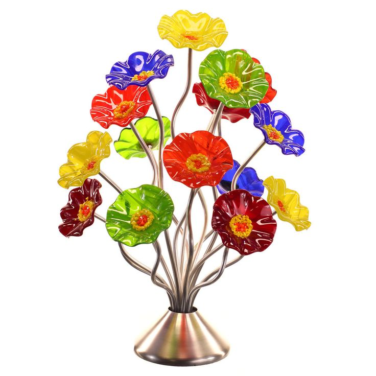 Beautiful glass flower bouquets. Don't waste your money sending flowers that will wilt and die. Send gorgeous glass flowers that make them smile for a lifetime. http://myglassflowers.com/