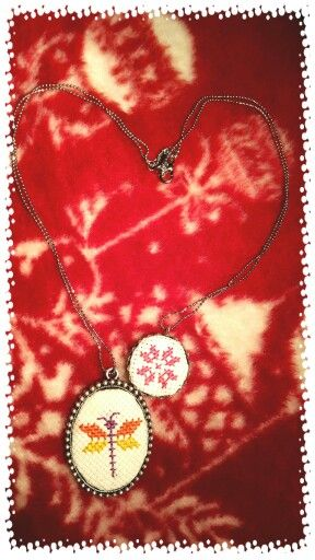 Crossstitch Necklace