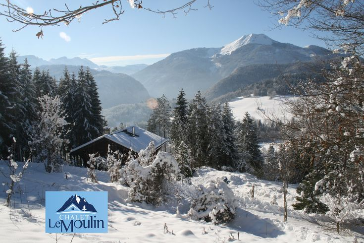 Chalet Le Moulin is a luxury ski chalet rental in the French Alps. The closest skiing to Geneva Airport, just 50 minutes. Stunning views out over the mountains. Peaceful and exclusive. Skiing at our village's twin resort of Praz de Lys - Sommand or equally easy to access Les Gets, Samoens and Morillon. Self Catering.