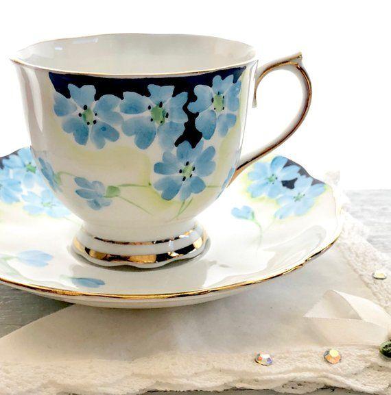 Royal Albert Tea Cup and Saucer English Bone China Cups