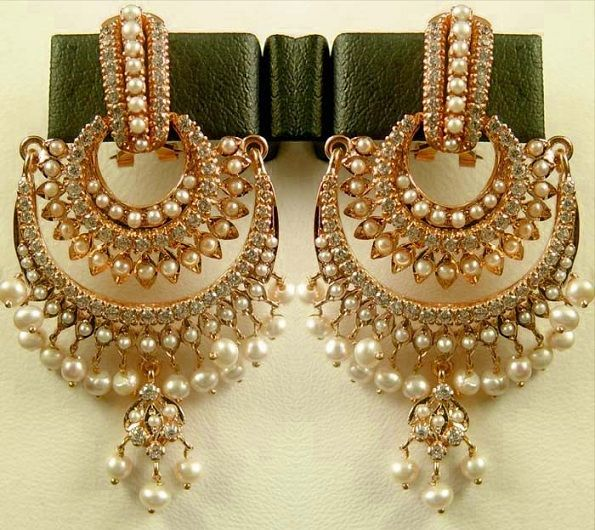 True Jewelz: Chand Bali Ear Rings