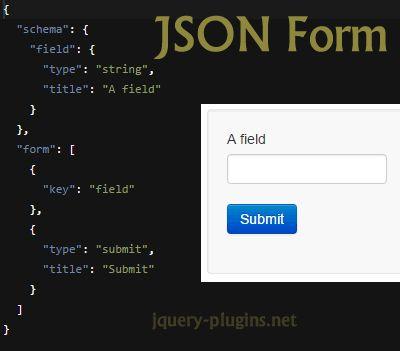 JSON Form – Javascript Library to Build Forms from JSON Schema  #json #form #bootstrap #javascript  #jsonform #ff