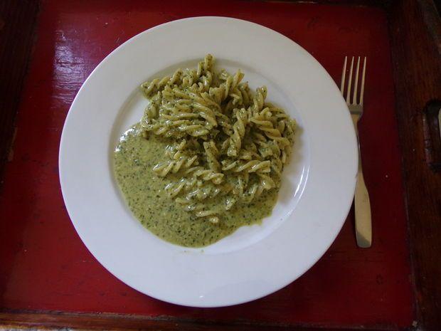 Picture of Creamy Basil Pesto Spagetti Sauce
