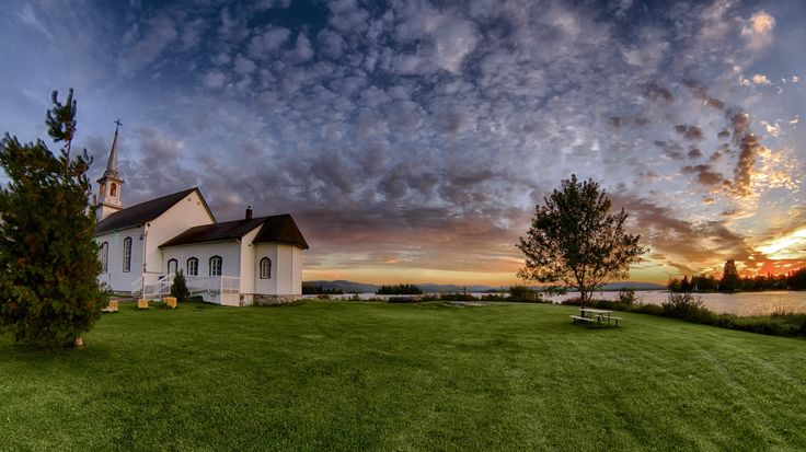 Sunset on the Chapel St Cyriac 09/25/2014 by Normand Gaudreault on 500px