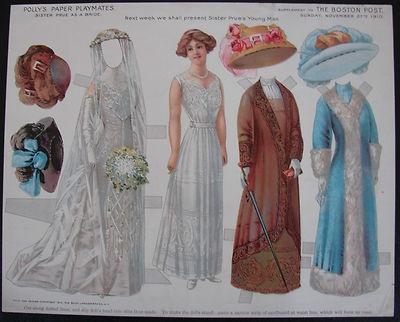 1002 best Paper Dolls: Victorian / Vintage images on Pinterest ...
