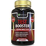 #1 Best Testosterone Booster Supplement  Alpha Male Max Potency Natural Test Booster Pills & Libido Enhancer For Men To Increase Sex Drive & Build Muscle Mass  Maca Tribulus Fenugreek Tongkat Ali