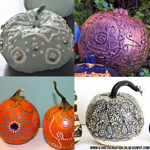 1000 images about halloween projects we love on Funny pumpkin painting ideas