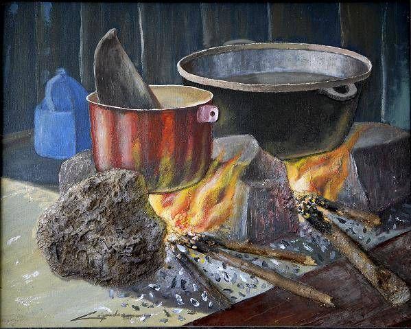 Fog n campesino bodegones fogon pinterest - Pintura para cocina ...