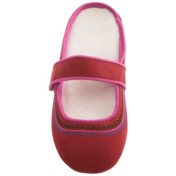 Acorn Reva Mary Jane Slippers - Nubuck (For Women)