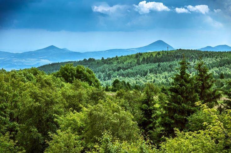 Blick ins Böhmische Nachbarland