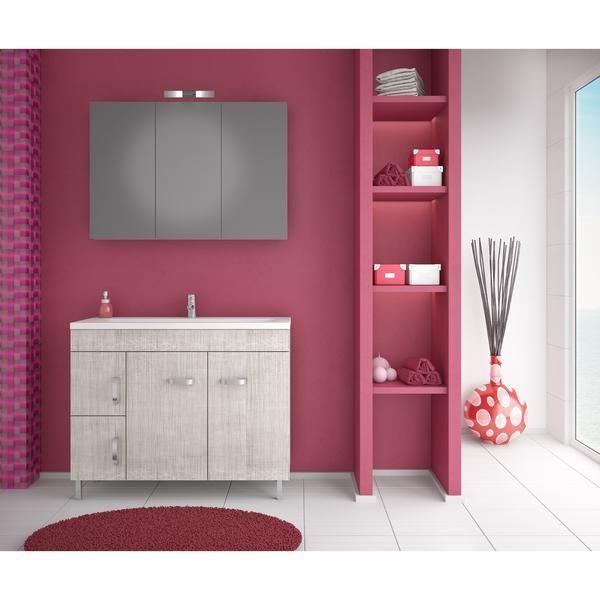 "DP Floor Bath Vanity Cabinet Set 39.4"" Single Sink W/ Laminated Beige"
