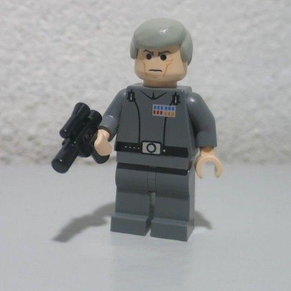 LEGO STAR WARS Minifigure GRAND MOFF TARKIN From Set 10188