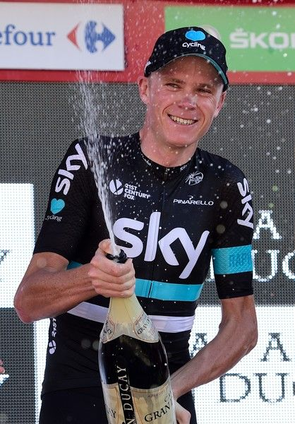 ChrisFroome wins stage 19 La Vuelta 2016 a 39km individual time-trial 2016 / AFP / JOSE JORDAN