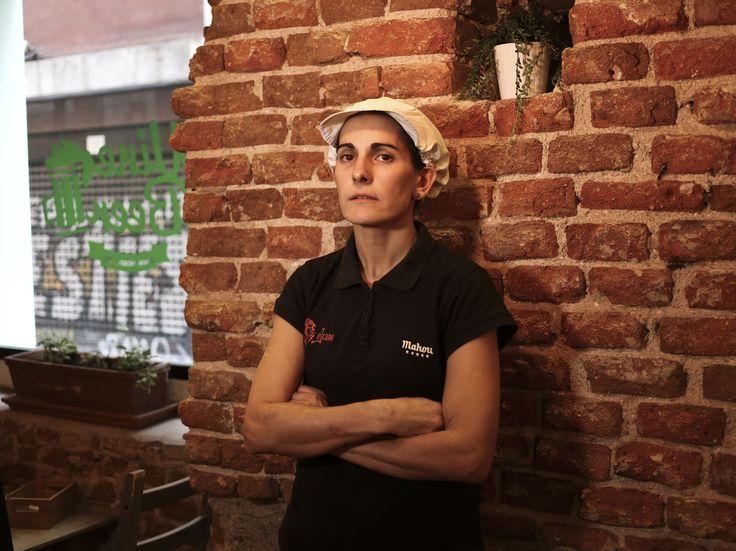 Milagros Mezquita. Chef del Restaurante Elcano Fuencarral. Madrid. Entrevista completa en nuestro facebook:  https://www.facebook.com/ElcanoRestaurante/