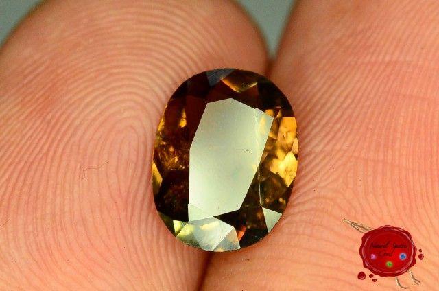 Extreme Rare 1.565 ct Natural Axinite ~ Durand Line