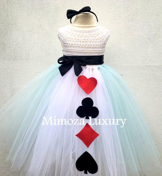Alice in Wonderland Princess tutu dress Alice by MimozaLuxury